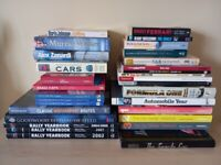 Car books - Available individually or as a job lot