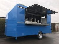 13x6 Catering Trailer Fully Equipped