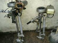 Two seagull outboards