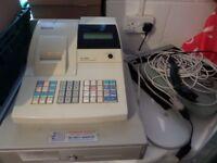 Sam4s Er-380 Cash Register, Shop till, Scanner, 2 boxes of till roll