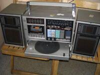 Rare Sanyo portable music system