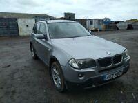 BMW X3 2.0 DIESEL SUV GREY 6 SPEED MANUAL RELIABLE M47