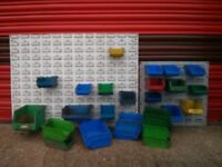 Storage Bins & Louvred Wall Mounts
