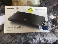 For sale Ultra HD Blu-ray Player brand new