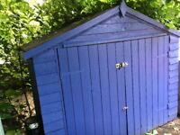 Garden shed for bike or other storage