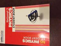 Nat 5 study books modern studies physics history French maths excellent condition £4 -£10