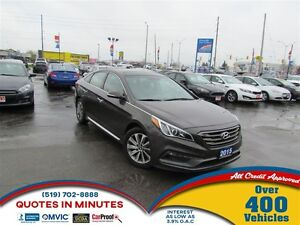 2015 Hyundai Sonata SPORT TECH | LEATHER | NAV | ROOF