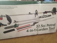 Brand new Drapper Petrol 4in 1 Garden tool