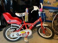 Apollo Girls Pom Pom Bike