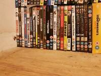 Loads of dvds