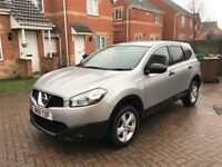 2012 NISSAN QASHQAI +2 1.6, MILEAGE 60000, 7 SEATER, ONE PREVIOUS OWNER