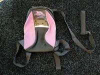 Trespass junior back pack with parent strap