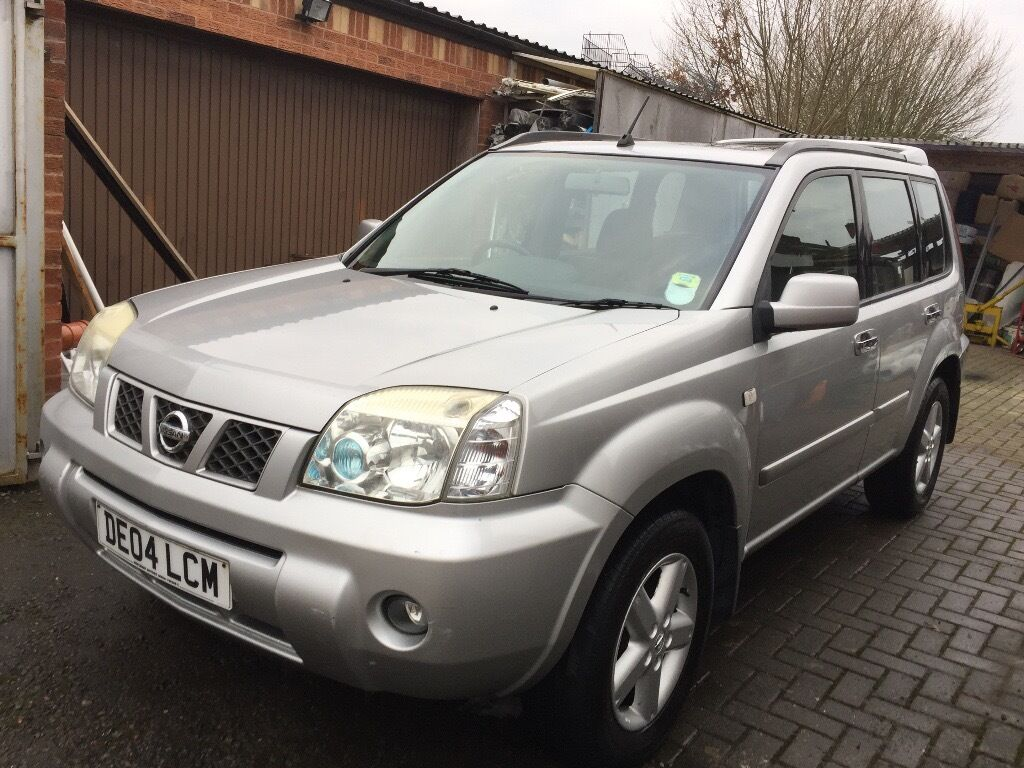 nissan x trail sport dci 2004 diesel cheaper than any on autotrader with same year in. Black Bedroom Furniture Sets. Home Design Ideas