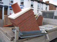 GRP Brick-effect chimney - New and unused, surplus to requirements