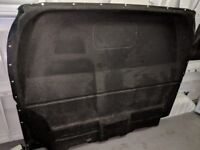 Steel and Carpeted Bulkhead, Ford Transit Jumbo 2012 - excellent condition