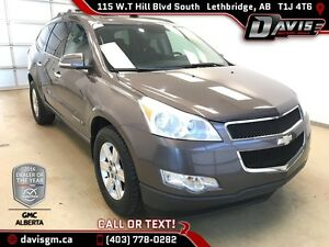 Used 2009 Chevrolet Traverse LT-AWD, 7 Passenger, Sunroof, DVD