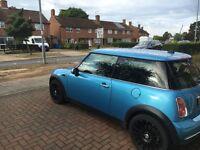 Mini Cooper rc32 in metallic blue
