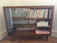 Vintage shelf cabinet in wood