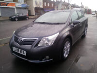 Toyota Avensis Saloon 2009 MK 3 V-Matic T4 M-Drive S saloon leather interior navigation, camera