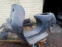 Vespa Mark 1 frame and documents for sale