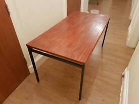 Large wooden office/kitchen/workshop table, 76 x 150 cm