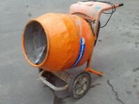 belle cement mixer 240 volts