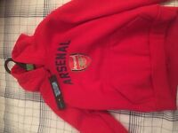 Official Arsenal boys hoody size 3-4