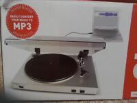 ION USB turntable vinyl archiver with line input.
