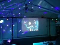 Karaoke disco light and projector set