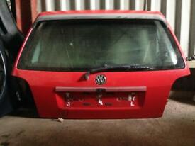 Volkswagen Golf MK3 GTi Tailgate LP3G Red With Spoiler