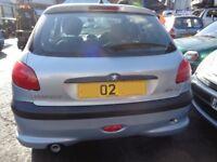 Breaking ----- Peugeot 206 1.6L Petrol 107BHP --- 2002
