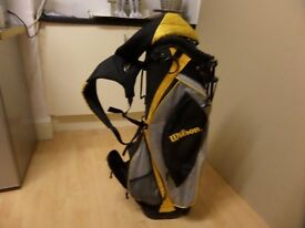 Wilsons Golf Clubs, including carrier plus balls, good condition, Ideal christmas Gift.