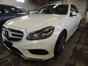 2014 Mercedes-Benz E-Class 4MATIC, NAVI, BACK UP CAMERA, LEATHER