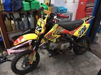 stomp pit bike 2016***** lots of new parts******