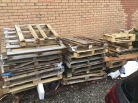 Pallets Broken - must collect yourself - FREE
