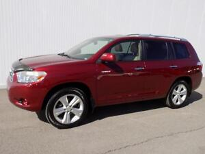 2008 Toyota HIGHLANDER 4WD LIMITED CUIR NAV TOIT 7 PASSAGERS