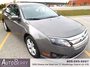 2012 Ford Fusion SE *** CERT & E-TEST & ACCIDENT FREE *** $9,999