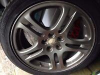 subaru impreza wheels with tyres