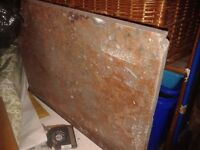 GRANITE STONE WORKTOP SURFACE STEP/ HEARTH TABLE TOP 2X4FT APPROX