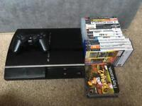 Backwards compatible ps3 console with games