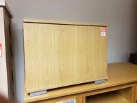 1 door 1 shelf cupboard - Oak effect