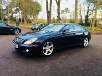 MERCEDES CLS 2007/AUTOMATIC/7G DIESEL/CDI 3.0 ENGINE/FULL CREAM LEATHER/FULL SERVICE/1 YEAR MOT