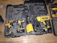 Dwalt set and nail first fix