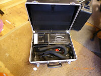 Vacuum cleaner in a case