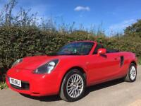 Toyota MR2 roadster convertible low mileage long mot px available