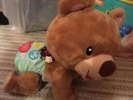 Vtech crawling bear