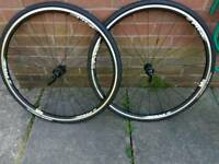 Giant PR2 Wheelset. Brand new with Tyres, tubes and skewers.