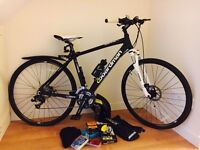 BOARDMAN MX HYBRID BIKE WITH ACCESSORIES ** REDUCED PRICE AS NEED GONE ASAP AS NEED THE SPACE!!**