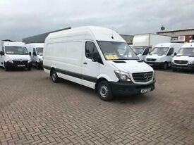 March 2015 mercedes sprinter 316cdi extra lwb extra high roof £10995 j&ft&v mallusk