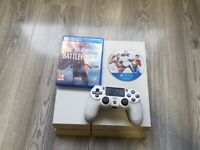No offers - PS4 White 500GB with Genuine white controller Fully working!!!